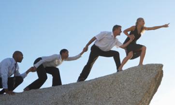 Encuentra a las personas influyentes que jalen al resto del equipo hacia el cambio